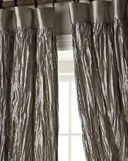 Dian Austin Couture Home Crushed Silk Dupioni Curtains
