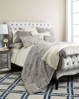 "Fino Lino Linen & Lace ""English Garden"" Bedding"