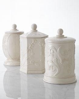 Embossed Jars