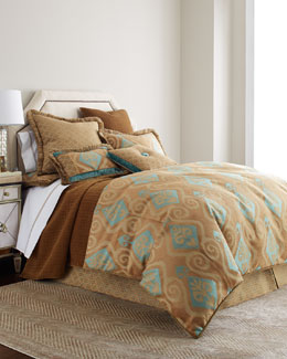 Dransfield & Ross House Ikat Haven Bedding