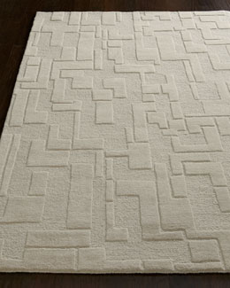 Abstract Maze Rug