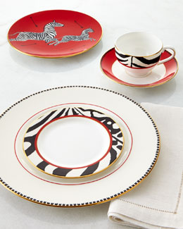 Scalamandre by Lenox Scalamandre Zebras 5-Piece Place Setting