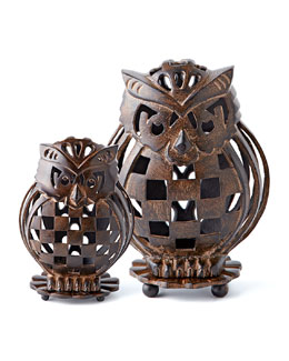 MacKenzie-Childs Owl Luminary