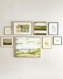 Verdant Visions Wall Gallery