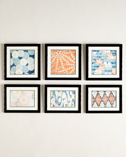 Vintage-Pattern Prints Wall Gallery