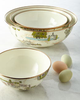 MacKenzie-Childs Aurora Everyday Bowls