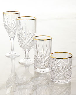 Dublin Gold Crystal Glassware