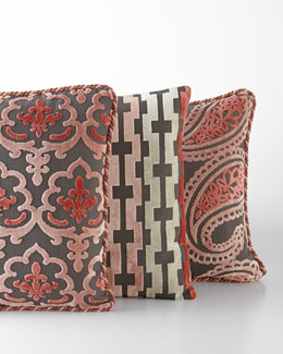 Austin Horn Collection Bathshira Pillows