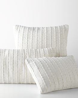 Woven Ribbons Pillows