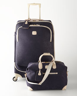 Bric's Capri Navy Luggage Collection