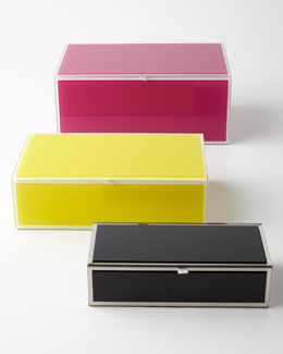 Swing Design Mia Glass Storage Box & Jewelry Box