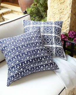 John Robshaw Drakon Outdoor Pillows