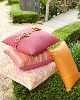 ELAINE SMITH Sorbet Outdoor Pillows