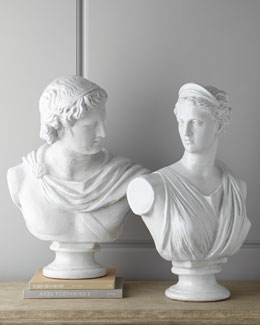 Global Views Apollo & Diana Busts
