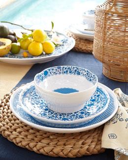 Q Squared Heritage Melamine Dinnerware