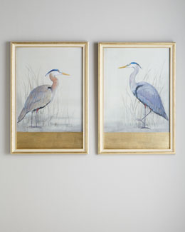 "John-Richard Collection ""Keeping Watch"" Heron Prints"