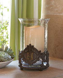 Personalized Hurricane & Outdoor LED Candle