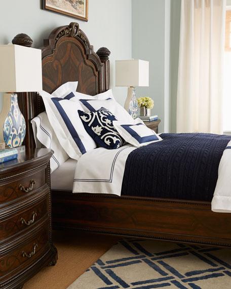 Colette Queen Panel Bed