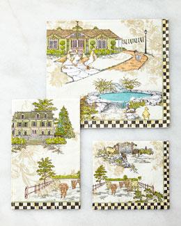 Aurora Paper Napkins & Guest Towels