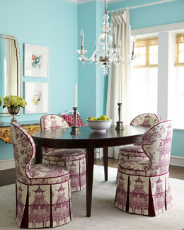 Haute House Gardon Dining Chair & Allerton Dining Table