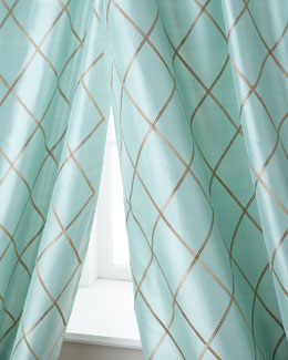 Creative Threads Axiom Silk Curtains