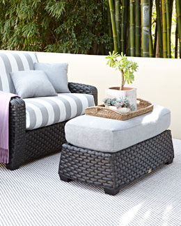 Madison Dark Cuddle Chair & Ottoman