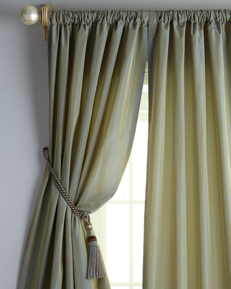 "Each 48""W x 96""L Rod-Pocket Kate Curtain"