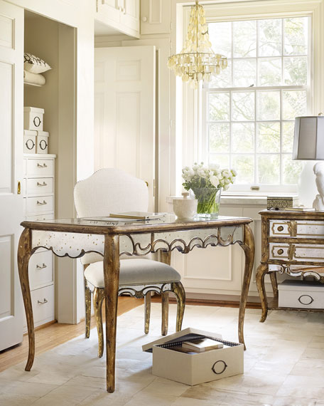 Briganti Mirrored Writing Desk