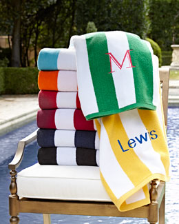 Kassatex Cabana Stripe Beach Towels