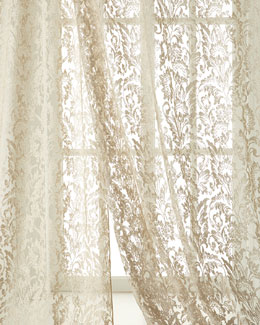 "Dian Austin Couture Home ""French Chantilly"" Lace Sheers"