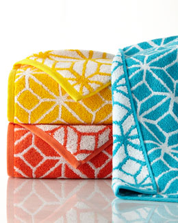 Trina by Trina Turk Trellis Towels