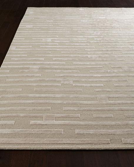 Linear Maze Rug, 6' x 9'