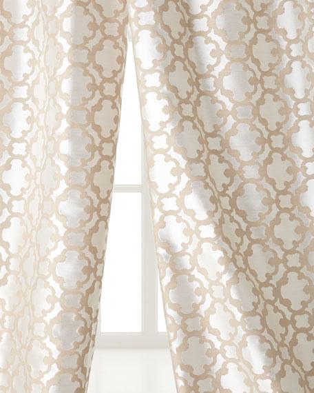"Each 55""W x 96""L Palisade Tile Curtain"