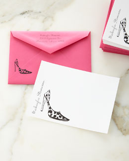 Stiletto Correspondence Cards
