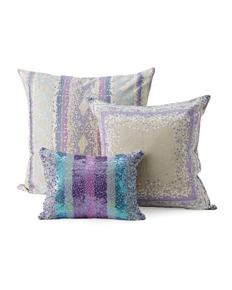 Kim Seybert Dotted Geometric Pillows Best Kim Seybert Living Decorative Pillows