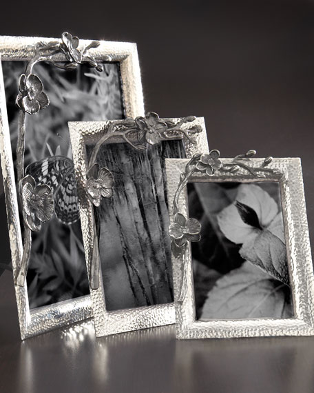 "Black Orchid Picture Frame, 8"" x 10"""