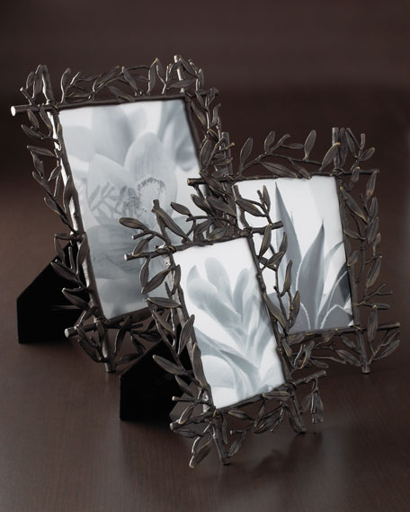"""Olive Branch Picture Frame, 5"""" x 7"""""""