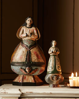 Praying Madonna Figures