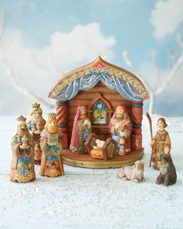 Folk-Art Nativity