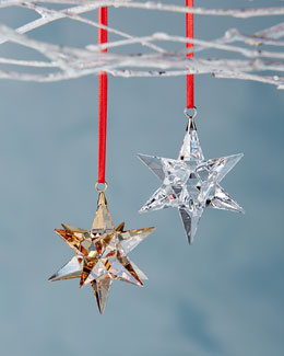 SWAROVSKI Star Christmas Ornaments
