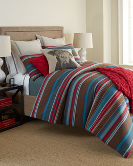 Pine Cone Hill Chalet Stripe Bedding