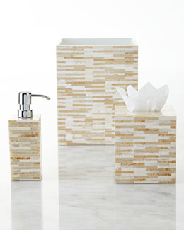Stone Tile Mosaic Vanity Accessories