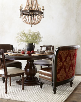 Massoud Trisha Dining Furniture & Tanguay Banquette