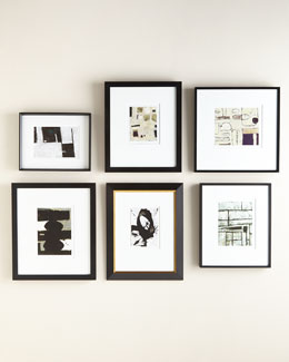 Black & White Abstract Wall Gallery