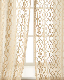 Isabella Collection by Kathy Fielder Amelia Sheer Curtains