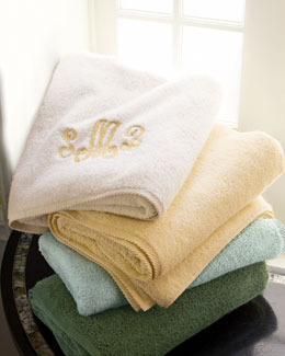 Matouk Marcus Collection Seafoam Towels