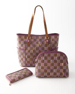 Bittersweet Town Tote, Cosmetic Bag, & Wallet