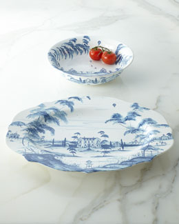 "Juliska Delft-Blue ""Country Estate"" Serveware"
