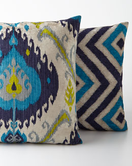 Peacock Pillows