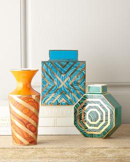 Malachite Vases